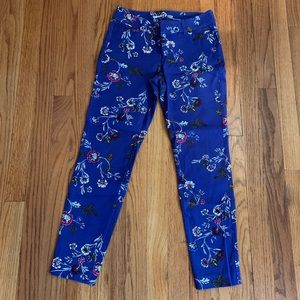 Old Navy Floral Pixie Pants